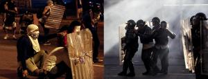 Protestas Altamira Sur